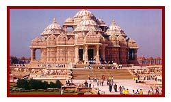 akshardham temple during delhi visit