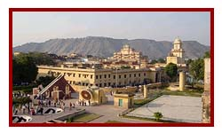Jaipur jaipir - city palace - view