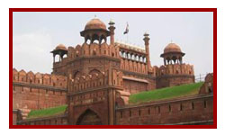 Red Fort during northern india golden triangle tour