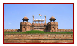 Delhi Red Fort visit during luxury golden triangle trip