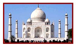 The Taj Mahal in Agra - during 6 days north india golden triangle tour packages